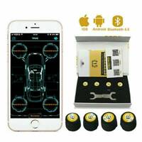 TPMS Bluetooth Tyre Pressure Monitor with 4x Wireless Sensors Monitoring System