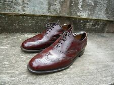 JOSEPH CHEANEY BROGUES – BROWN / MAHOGANY - UK 10 – EXCELLENT CONDITION