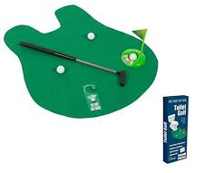 Potty Golf Toilet Practice Putting Great Gag Gift Funny Bathroom Mini Golf