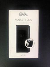 Case-Mate Wallet Folio Leather Case w/ Card Slots for LG V20 - Black CM035240