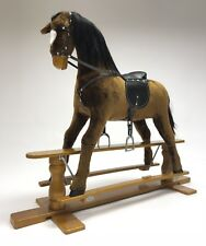 """Brand New LUXURIOUS EXTRA LARGE Rocking Horse """"STAR"""" SIZE XL age 6 -13 years"""