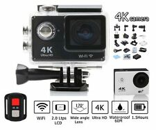 PRO CAM SPORT ACTION CAMERA VIDEOCAMERA 4K WIFI ULTRA HD 16MP CON TELECOMANDO