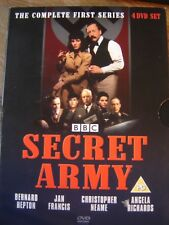 Secret Army - Series 1 - Bernard Hepton - 4 Disc Set with 20 page veiwing notes