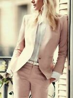 Women Business Tuxedos Ladies Office Formal Work Wear 2 Piece Suits Custom Made