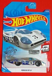 PORSCHE 917 LH zamac 1.64 HOT WHEELS