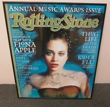 """Fiona Apple Autographed 32"""" x 27"""" Rolling Stone Poster 1998 Signed - Look"""
