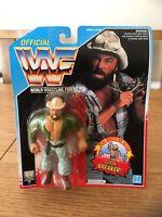 VINTAGE 1992 WWF HASBRO SKINNER SERIES 5 ACTION FIGURE - NEW SEALED MOC