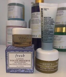 NEW Peter Thomas Roth, Kiehls, Fresh, & Shiseido | Skincare Moisturizer Lot