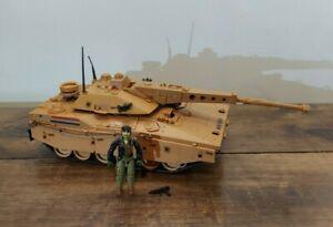 GI Joe 1985 Mauler MBT Tank With Heavy Metal All Original Parts Antenna Cable