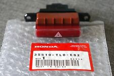 JDM Acura TSX Honda Accord RED Hazard Button Switch Genuine OEM