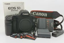 Classic Canon 5D Mark I Full Frame DSLR Camera Body w/ extras
