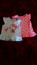 Baby Girls 2X Hello Kitty Dresses 12 18 BNWT