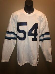 Columbia University 1955 Durene Ebbets Field Flannel XXL Football Jersey