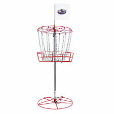 InStep Portable All-Weather Frisbee Golf Basket With 3 Free Discs | DG200