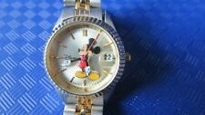 Disney mickey mouse watch wristwatch MCK340 ladies womens excellent