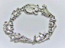 Noa's Ark, Bracelet, Tibetan Silver, Religious