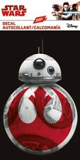 THE LAST JEDI - STAR WARS BB8 DECAL - WINDOW DECAL/STICKER - BRAND NEW - 7452