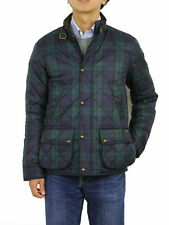 Polo Ralph Lauren Quilted Jacket Coat Blackwatch Plaid