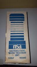 NSA Bacteriostatic Water Treatment Unit- 4(Four) units