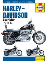 Haynes Manual 2534 - Harley-Davidson Sportster (70 - 13) workshop/service/repair