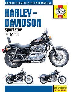 Haynes Manual 2534 for Harley-Davidson Sportster (70 - 13) workshop/service...
