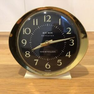 Vintage Big Ben Repeater Westclox Clock. Made in Scotland *Not Working* #671