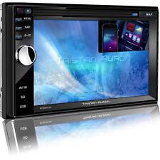 AUTORADIO mit DVD GPS BLUETOOTH DAB+ Navi USB SD Doppel 2DIN Navigation MP3 6,5