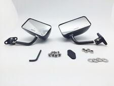 GP Carbon Fiber Race Small Mirrors Auto/Bike F1 Style Kit Side Wing Pair RH+LH