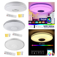 13 ''WIFI Smart LED Decke Licht RGB Bluetooth Musik Lautsprecher Dimmbare