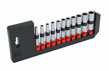 "11pc 1/4"" Drive SAE Deep Socket Set - Sizes - 5/32"" to 1/2"" - FREE POST"
