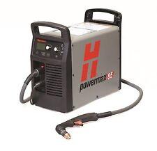 HYPERTHERM 087108 POWERMAX 85 PLASMA CUTTER  PKG 25'  torch, free circle kit