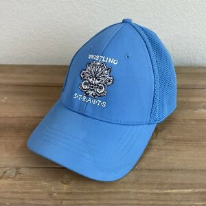 Whistling Straits Fitted Golf Hat Cap L / XL Blue PGA Championship Course