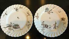 Rare Antique Limoges Haviland & Company France Deposea pair of plates