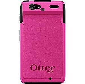 OtterBox Case for the Motorola Razr Commuter Series - Black/Hot Pink