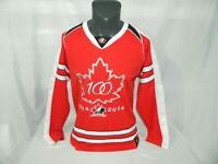 Team Canada Hockey 100 Year Anniversary Sogo Mens S Jersey Red IIHF 1914 - 2014