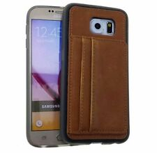 Synthetic Leather Fitted Cases for Samsung Galaxy S6