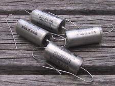 4 NOS SPRAGUE VITAMIN Q   0.22UF 200VDC Audio Oil Capacitors