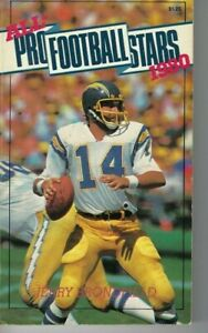 1980 All-Pro Football Stars paperback book Dan Fouts, San Diego Chargers VG