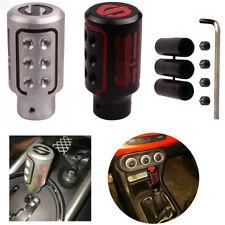 Auto Manually Aluninum Head Gear Shift Knob Universal Car Interior P Parts SPC