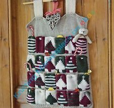 Knitting Pattern - Christmas Advent Calendar C100