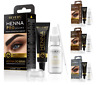 REVERS Cosmetics HENNA CREAM Eyebrow Lash Tint Dye ARGAN CASTOR Oil BLACK BROWN