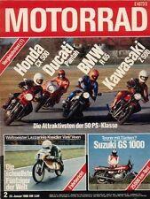 M8002 + Vergleich BMW R 65 vs. HONDA CX 500 und andere + MOTORRAD 2 1980