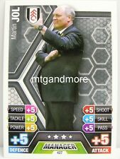 Match Attax 2013/14 Premier League - #427 Martin Jol - Fulham