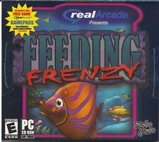Feeding Frenzy 1 PC Games Windows 10 8 7 XP Computer mumbo jumbo kid popcap NEW