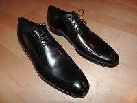 HUGO BOSS Black Dress Casual Shoes Leather PRADOT X 8 10 10.5 11 11.5 12 12.5
