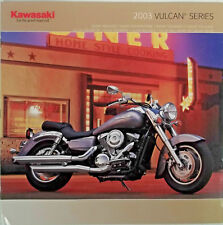 KAWASAKI Vulcan Series Model Year 2003 Motorcycle Sales Brochure Catalog