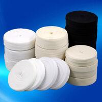 Cotton Twill Tape Apron 1 Inch 1/2 Black Natural White 2 3/4 1/4 5/8 Herringbone