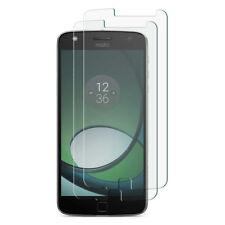 Motorola Moto Z2 Play - 2x Displayfolie Panzerglas Glas Folie 9H Displayglas
