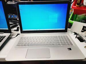 HP Envy M6-p114dx Laptop AMD FX 8800 2.10GHZ 16GB RAM 500GB HDD WIN 10 NO BATT