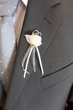 Anstecker, Hochzeit, Gästeanstecker, 2 Farben Hochzeitsanstecker, Schleife